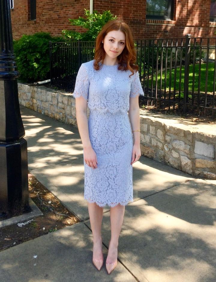 Floral lace dress 2