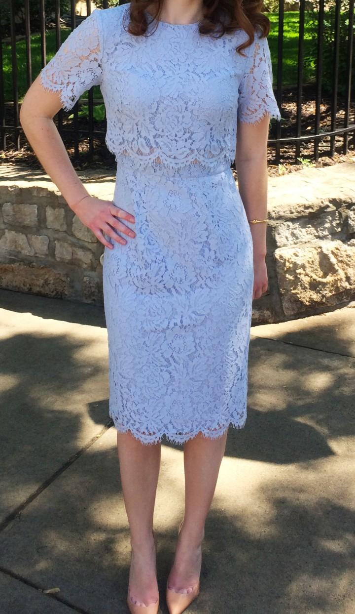 Floral Lace dress 5